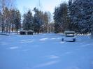 Lasteaia õues talvel